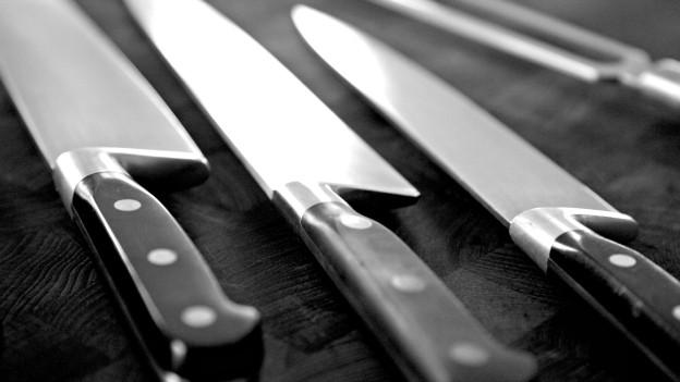 Manche mögen's messerscharf: Küchenmesser fehlen in keiner Küche.