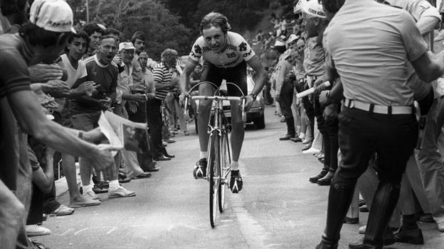 Schweizer Profi: Beat Breu 1981 an der Tour de Suisse.