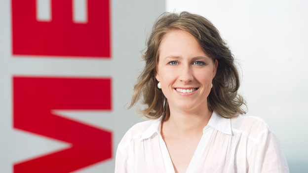 SRF-Wetterfrau Claudia Stocker.