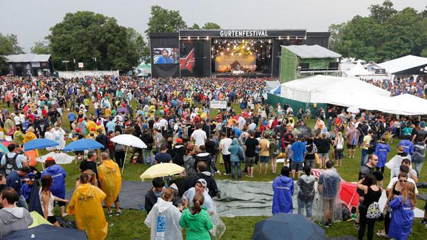 Auf dem Berner Hausberg fand das 30. Gurtenfestival statt.