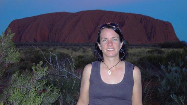 Andrea Schmid in ihrer Wahlheimat Australien.
