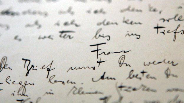 Originalbrief von Franz Kafka