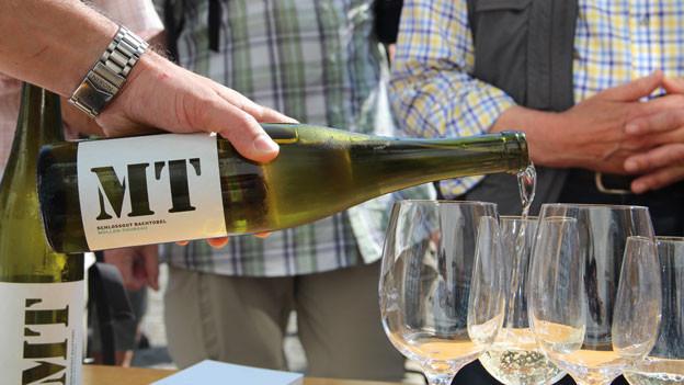 Auf dem Ottenberg gibt es Wein.