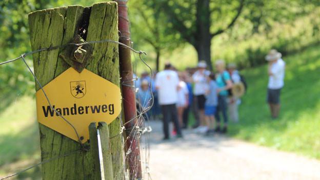 Die letzten Kilometer von «Querfeldeins».