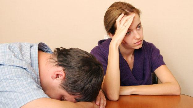 Wer gestresst ist, bekommt einen «Röhrenblick» und hat oft keine Zeit und keine Energie mehr für den Partner.