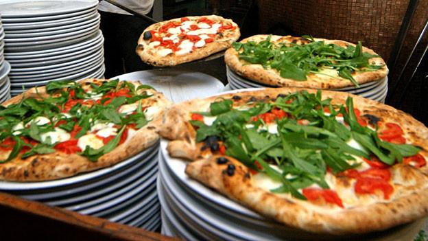 Allein in Italien werden täglich sieben Millionen Pizzas serviert.
