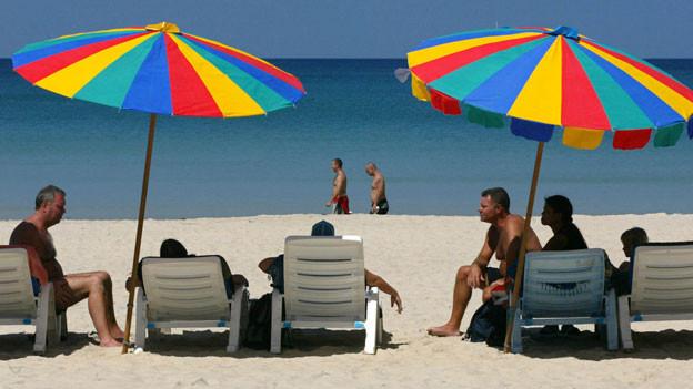 Strandferien sind für viele Menschen die ideale Erholung.