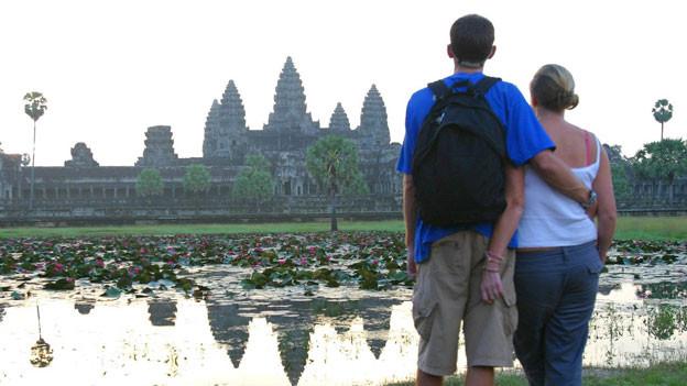 Tempel in Kambodscha: Gerade in fremden Kulturen können unbekannte Seiten zum Vorschein kommen.