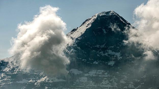 Der «Klassiker» unter den Alpen-Nordwänden: Die berüchtigte Eigernordwand.