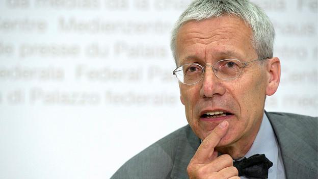 Peter Vollmer 2010 als Direktor des Verbandes öffentlicher Verkehr VöV.