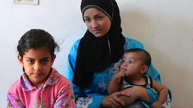 Diese Flüchtlingsfamilie aus Aleppo hält sich seit einem Jahr im jordanischen Ammann auf.