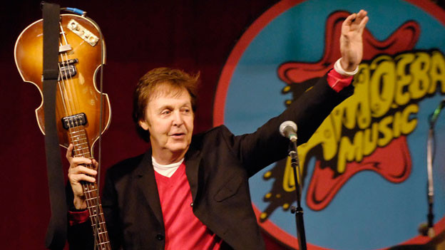 Paul McCartney 2007 in Los Angeles.