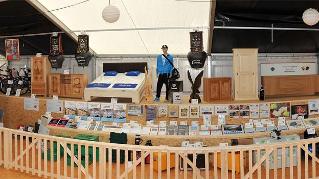 Preise im Wert von 800'000 Franken warten auf die Teilnehmer vom Eidgenössischen Schwing- und Älplerfest.