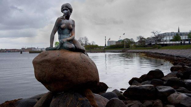 Seit hundert Jahren in Kopenhagen: Die kleine Meerjungfrau.