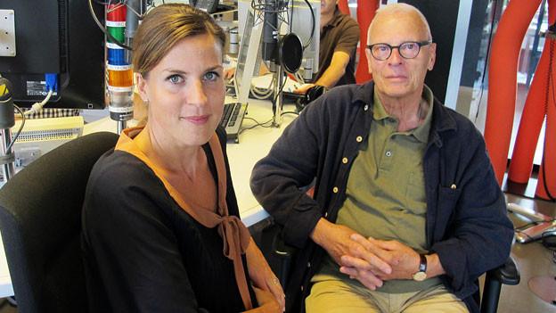Zwei Gesichter der «Tagesschau»: Cornelia Bösch und Charles Clerc erzählen Anekdoten aus erster Hand.