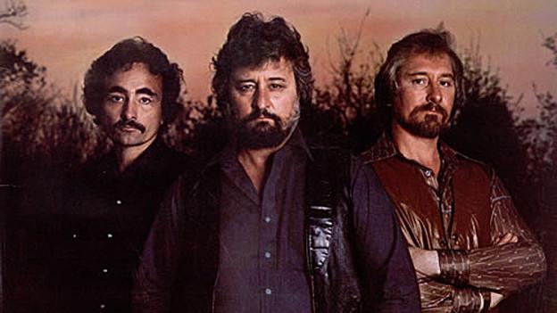 The Glaser Brothers: Tompall Glaser mit seinen Brüdern Jim (links) und Chuck (rechts).