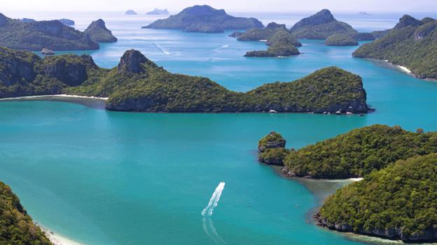 18`000 Inseln sind in der Datenbank registriert.