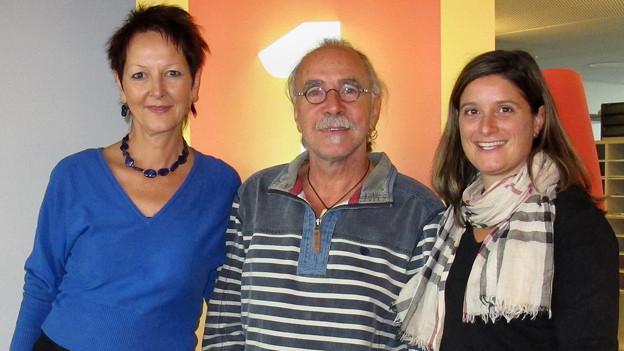 Renata Stavrakakis und Marco Zappa zu Gast im «Swissmade» bei Riccarda Trepp.