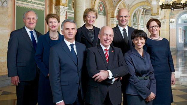 Das offizielle Bundesratsfoto 2013.