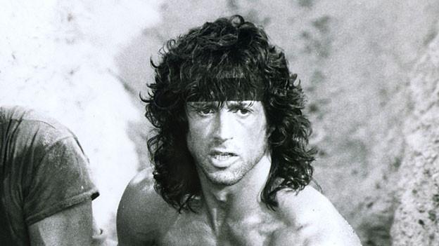 Sylvester Stallone in Rambo III 1988