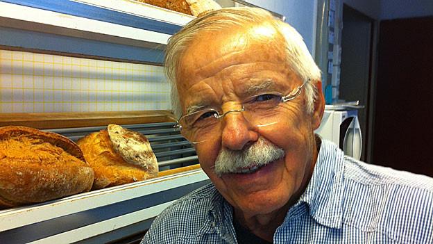 «Gut Brot will Weile haben.» Der Zürcher Beck Oski Kuhn.