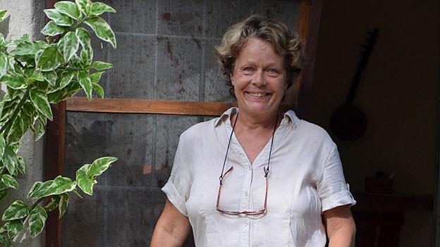 Dora Troehler lebt seit fünf Jahren in Afrika.