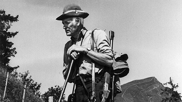 Fünfundzwanzig Jahre war Hans Hug als Wildhüter unterwegs.