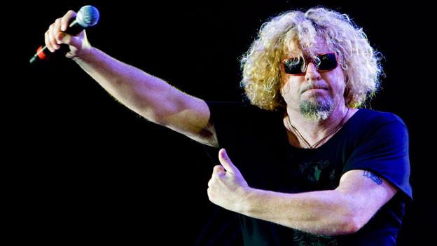 Ex-Van-Halen-Sänger Sammy Hagar am Jazz Festival Montreux 2009.