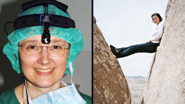 Zwischen 4000 und 5000 Operationen hat Karla Chaloupka in den letzten 20 Jahren gemacht. Sie sagt von sich: «Ich bin mit dem Spital, der Forschung und mit den Abenteuern des Reisens verheiratet.