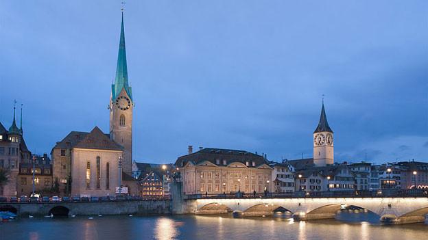 Schauplatz der Reihe: Zürich.