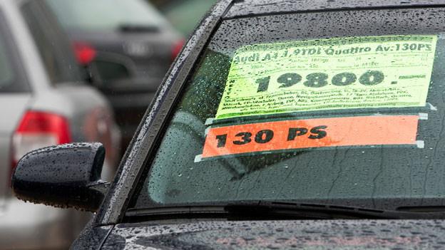 Wer ein Occasion-Auto kauft, sollte unbedingt eine Testfahrt machen.