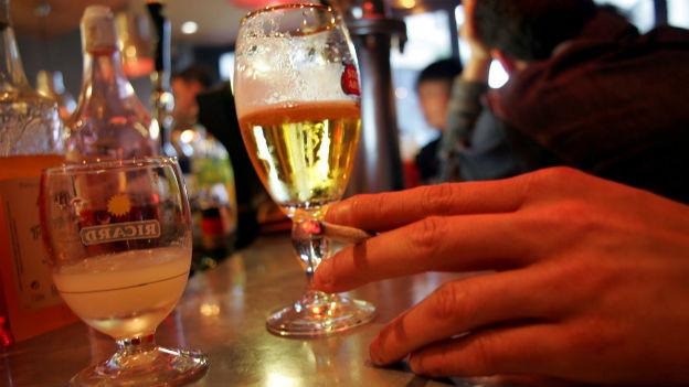Wieviele Gläser Bier liegen noch drin?