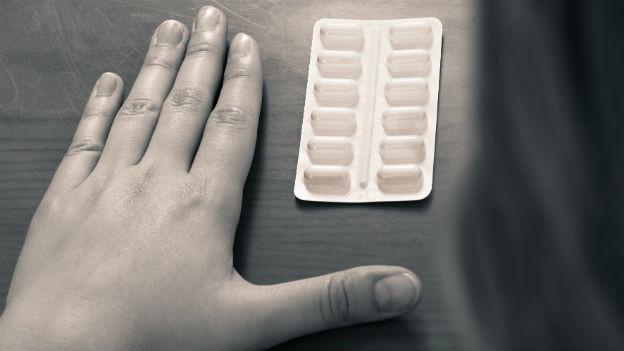 Beruhigungsmittel können abhängig machen.