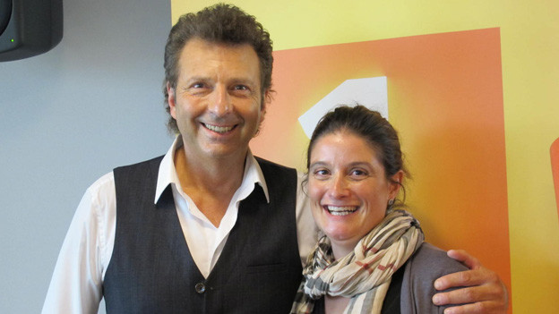 Bo Katzman zu Gast bei Riccarda Trepp für die Sendung «Swissmade».