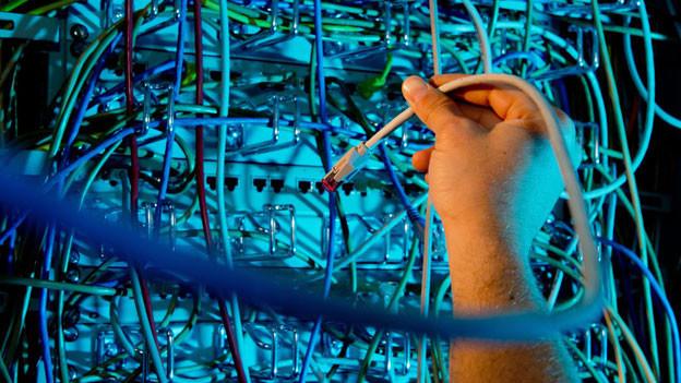 Die Technik des Internets läuft grösstenteils über die USA.