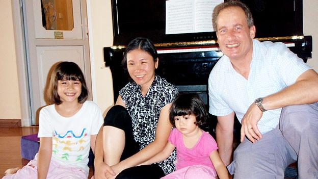 Die Familie Keller aus Hanoi kehrt bald in die Schweiz zurück.