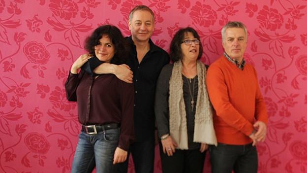 V.l.n.r. Antonia Giordano, Mauro Zompicchiatti, Marianna Polistena und Thomas Wild.