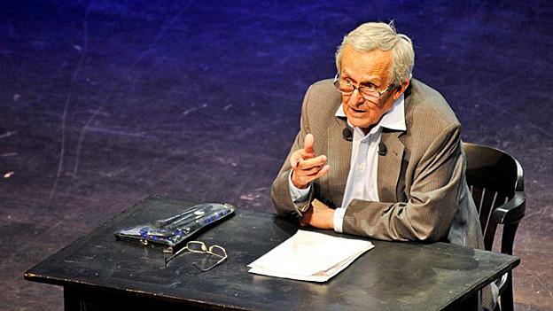 Dieter Hildebrandt am Salzburger Stier 2011