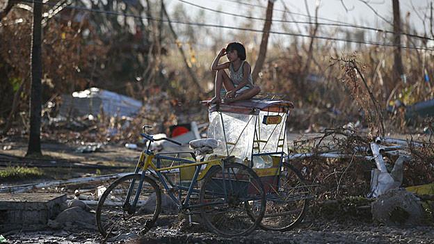 Die Not ist nach dem Taifun Haiyan gross.
