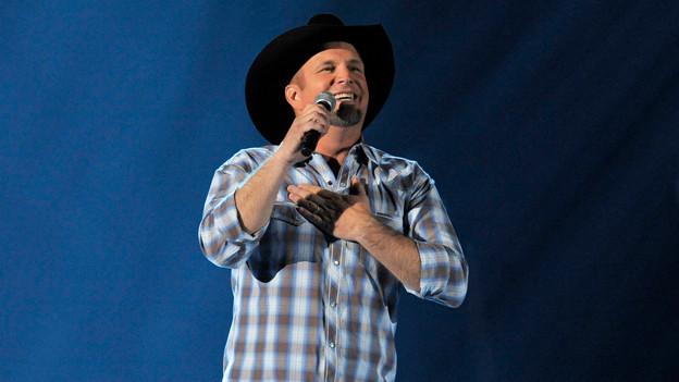Garth Brooks 2013 bei einem Auftritt in Las Vegas.