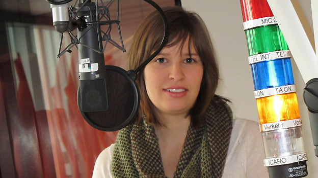 Martina Linn zu Gast bei Radio SRF 1.