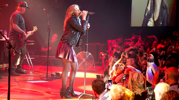 LeAnn Rimes an der Country Night Gstaad 2013.