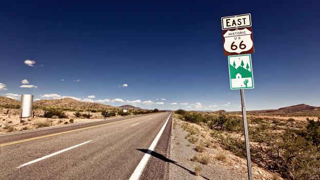 Inspiration für viele Songs: Die berüchtigte Route 66.