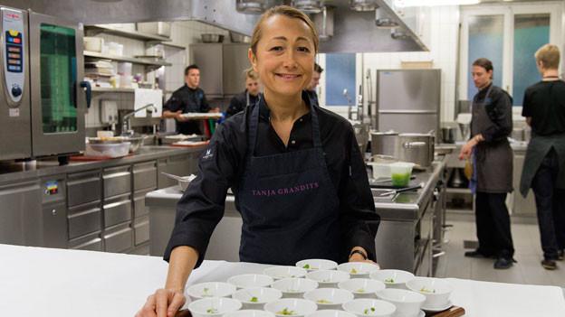 Tanja Grandits wurde im Oktober 2013 zum «Koch des Jahres» ausgezeichnet.