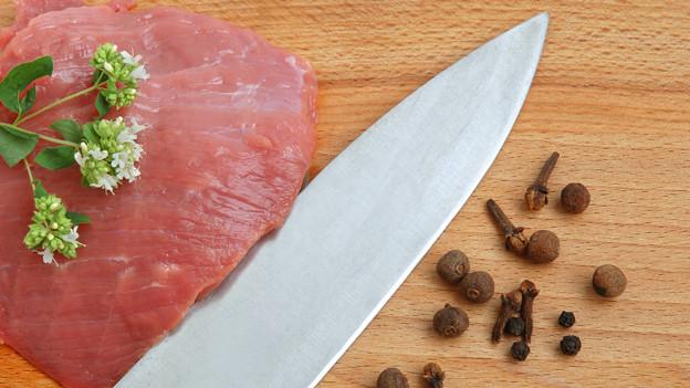 «Jägerfleisch» ist ein Gericht aus Rindsplätzli.