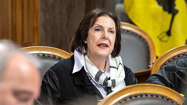 Schwört auf gefüllte Kalbsbrust: Ständerätin Christine Egerszegi.