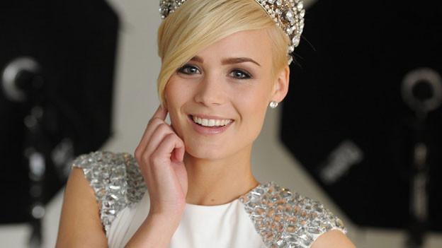 Spielt für den guten Zweck: Miss Schweiz Dominique Rinderknecht.