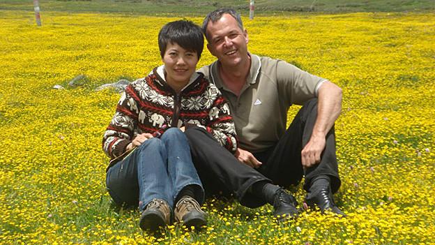 Adrian Stalder und seine Frau Li Lu leben in der chinesischen Provinzhauptstadt Kunming.