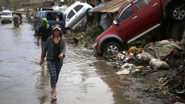 Die Opfer des Taifuns Hayan haben oberste Priorität.