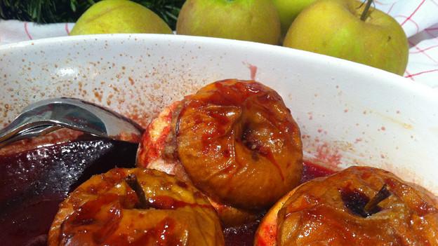 Schmecken und riechen herrlich: Brat-Äpfel mit Zimt und Vanille.